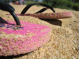 Flip Flops by lorilaughable