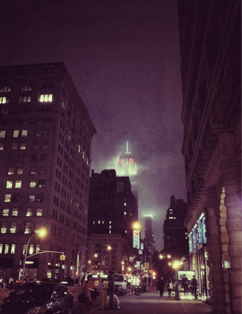 untitled- gotham at night by seenew