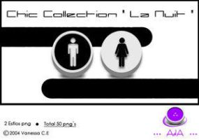 "Chic Collection ""La Nuit"" by oooAdAooo"