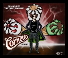 The Three Flavours Cornetto Trilogy by EvieClare