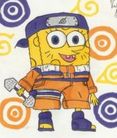 Naruto Spongebob by killerqueen400
