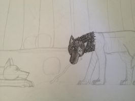 Trade with Sally-Ce WIP by HaloneWolf