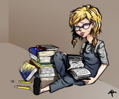 Just studying... by kkcooly