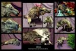 """I want a Hyaenodon for Christmas..."" by WormsandBones"