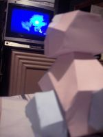 Porygon is watching my tv by Danix54