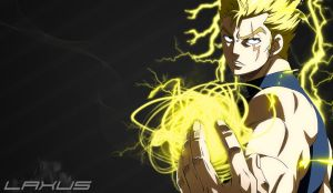 Laxus-FairyTail #8 by BMGoomes