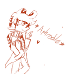 Aphrodite sketch by M4j1nr4bb1D
