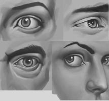 Eye Studies #1 by p00se2