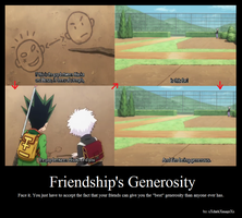 Friendship's Generosity by xXdarkXmageXx