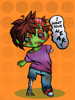 The Lovable Zombie by To-Ka-Ro