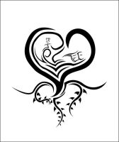 tattoo - heart by k-Ice