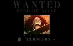 One Piece: Wanted - Brook by ailend