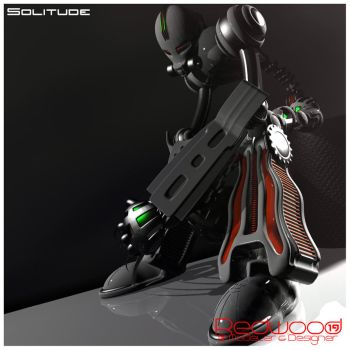 Solitude by REDWOOD3D