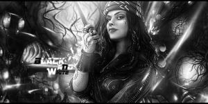 BLACK AND WHITE SIG by janisar22