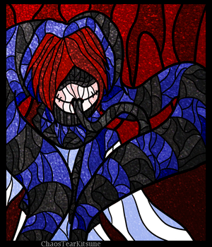 Stained Glass: Misery by ChaosTearKitsune