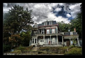 House on a haunted hill by budislav