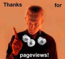 Thanks for 1000 pageviews by ayelid