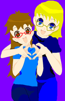 Me and My Mommy :3 by Fuso-starstar888