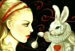 The Talented Mr. Rabbit by ArtistsForCharity