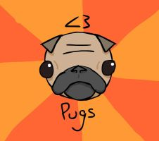 Love Pugs by Robot-Panda22