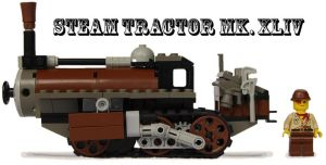 Steam Tractor Mk. XLIV by RRaillery