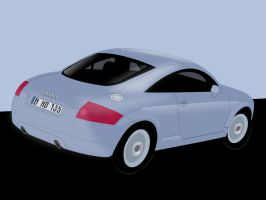 Audi TT by bhound89