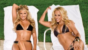 WWE Kelly Kelly and Michelle Mccool by DemiCel
