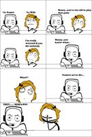 Gamers Never Die -Rage Comic- by Albowtross91