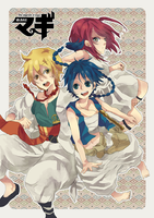 Magi: labyrinth of magic by nilampwns