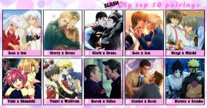 My Top 10 Yaoi Couples by DemitriaMiriam