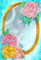 The flower mirror - Mulle's Christmas Calendar by m-u-ll-e