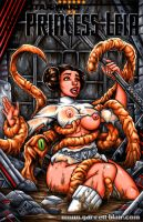 Naughty Leia tentacle trouble cover by gb2k