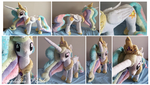 Princess Celestia Plush by Sophillia