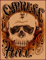 Cypress Hill Skull 2011 by Insanemoe