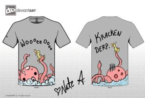 Kracken Derp +CuddlyMonsters+ by xXNaminaeXx