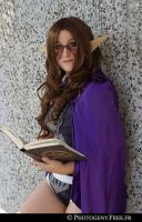 black mage suit of world of warcraft by PhobyJinei