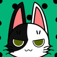 cat icon: Pinto the 2nd or pinta by ModernLisart