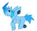 blurr pony by moniquethecat