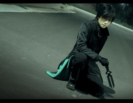 Darker than Black - The Black Contractor by cambiocosplays