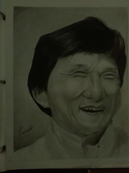 jackie chan smile by Jonter1514