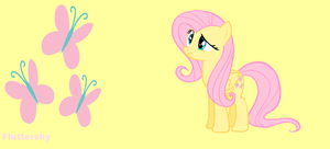 Fluttershy wallpaper by Rose-fang
