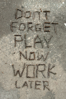 Play now work later by kapailuj