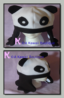 Panda Hat With Detachable Arms by AKawaiiBoutique
