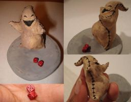 Oogie Boogie Figure by tenpieces