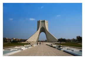 Azadi Tower by alireza1