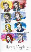 Hunters and Angels by justsomerandomfan