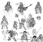 HS sketchdump 1 by Arianod