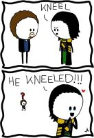If Loki was a Tom Hiddleston Fangirl... by IsleOfTwoMoons