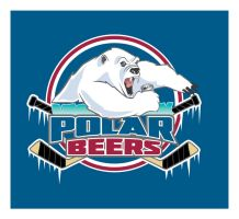 Polar Beers Hockey Logo by albundyland