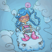 Balluna's Cloudmobile by steffne